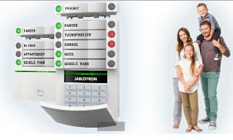 credexalarmsystems - Draadloos alarmsysteem