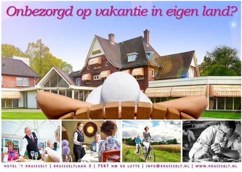 Welkom - Hotel 't Kruisselt   Het mooist gelegen hotel van Twente!