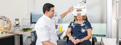 In unserer Klinik eine Vitrektomie Behandlung durchführen lassen