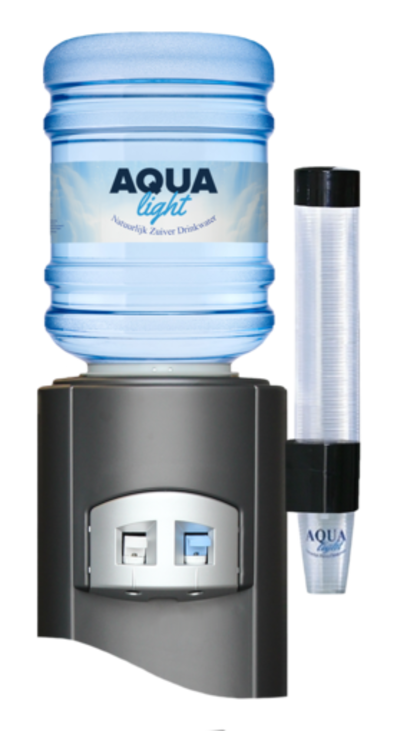 Altijd een vers glaasje water bij de hand dankzij de waterkoeler van aqua-beans.nl